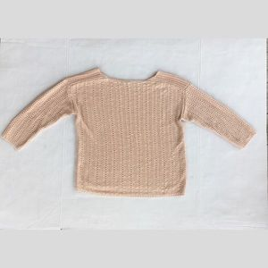 Ann Taylor Factory Blush Pink Boatneck Sweater